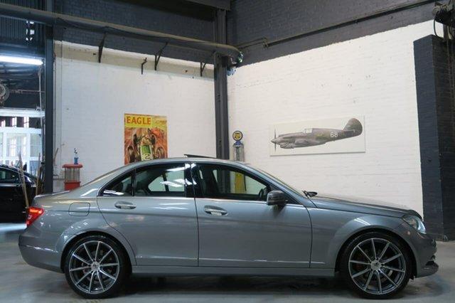 Used Mercedes-Benz C250 W204 MY13 BlueEFFICIENCY 7G-Tronic + Avantgarde, 2012 Mercedes-Benz C250 W204 MY13 BlueEFFICIENCY 7G-Tronic + Avantgarde Silver 7 Speed