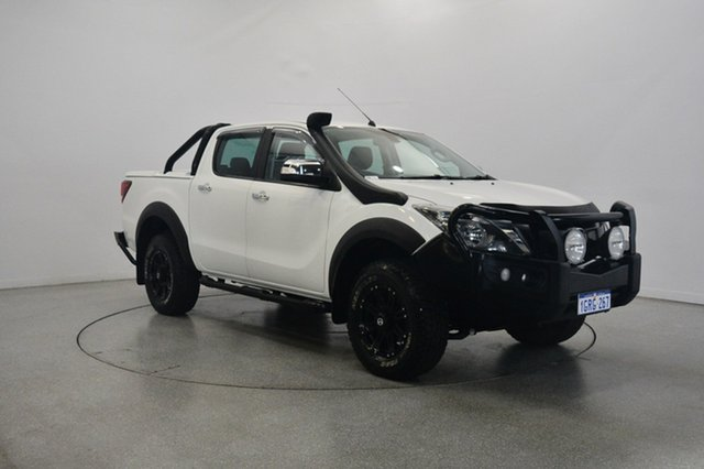 Used Mazda BT-50 UR0YG1 GT, 2016 Mazda BT-50 UR0YG1 GT White 6 Speed Sports Automatic Utility