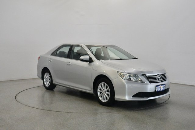 Used Toyota Aurion GSV50R AT-X, 2013 Toyota Aurion GSV50R AT-X Silver 6 Speed Sports Automatic Sedan