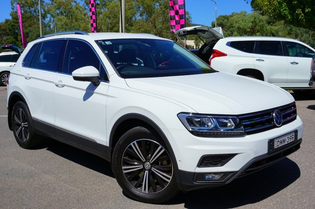 Used Volkswagen Tiguan 5N MY18 132TSI DSG 4MOTION Adventure, 2017 Volkswagen Tiguan 5N MY18 132TSI DSG 4MOTION Adventure White 7 Speed