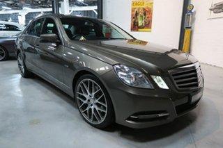 2010 Mercedes-Benz E-Class W212 E250 CDI BlueEFFICIENCY Avantgarde Silver 5 Speed Sports Automatic