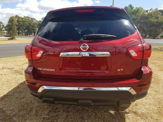 2018 Nissan Pathfinder R52 SERIES II M ST X-tronic 2WD Red 1 Speed Constant Variable Wagon