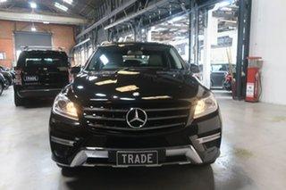 2012 Mercedes-Benz ML250 W166 BlueTEC 7G-Tronic + Black 7 Speed Sports Automatic Wagon