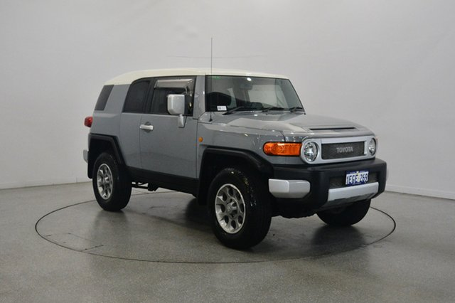 Used Toyota FJ Cruiser GSJ15R , 2012 Toyota FJ Cruiser GSJ15R Cement 5 Speed Automatic Wagon