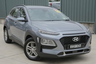 2017 Hyundai Kona OS MY18 Active D-CT AWD Lake Silver 7 Speed Sports Automatic Dual Clutch Wagon.