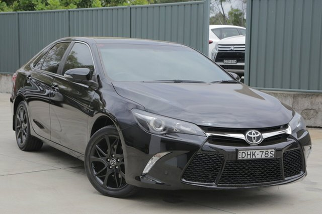 Used Toyota Camry ASV50R RZ, 2016 Toyota Camry ASV50R RZ Black 6 Speed Sports Automatic Sedan