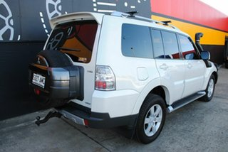 2008 Mitsubishi Pajero NS VR-X White 5 Speed Manual Wagon.