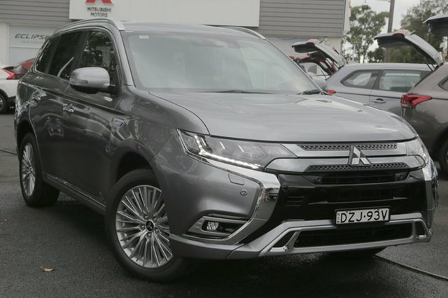 Demo Mitsubishi Outlander ZK MY18 PHEV AWD Exceed, 2018 Mitsubishi Outlander ZK MY18 PHEV AWD Exceed Titanium 1 Speed Automatic Wagon