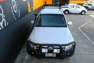 2008 Mitsubishi Pajero NS VR-X White 5 Speed Manual Wagon