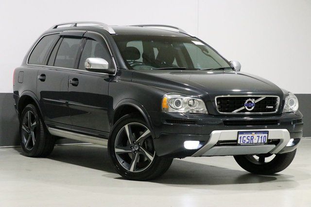 Used Volvo XC90 MY12 D5 R-Design, 2012 Volvo XC90 MY12 D5 R-Design Grey 6 Speed Automatic Geartronic Wagon