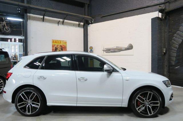 Used Audi SQ5 8R MY15 TDI Tiptronic Quattro, 2014 Audi SQ5 8R MY15 TDI Tiptronic Quattro White 8 Speed Sports Automatic Wagon