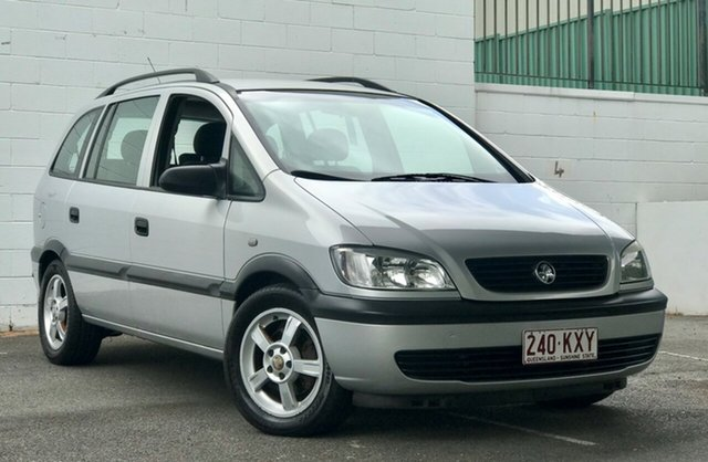 Used Holden Zafira TT MY03 , 2004 Holden Zafira TT MY03 Metallic Silver 5 Speed Manual Wagon