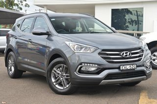 2017 Hyundai Santa Fe DM4 MY18 Active Titanium Silver 6 Speed Sports Automatic Wagon.