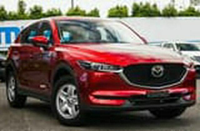Used Mazda CX-5 KF2W7A Maxx SKYACTIV-Drive FWD, 2018 Mazda CX-5 KF2W7A Maxx SKYACTIV-Drive FWD Maroon 6 Speed Sports Automatic Wagon
