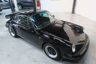 1981 Porsche 911 SC Black 5 Speed Manual Coupe
