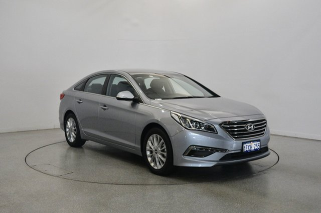 Used Hyundai Sonata LF Active, 2015 Hyundai Sonata LF Active Polished Metal 6 Speed Sports Automatic Sedan