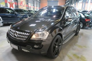 2008 Mercedes-Benz ML500 W164 MY09 Sports Luxury Black 7 Speed Sports Automatic Wagon