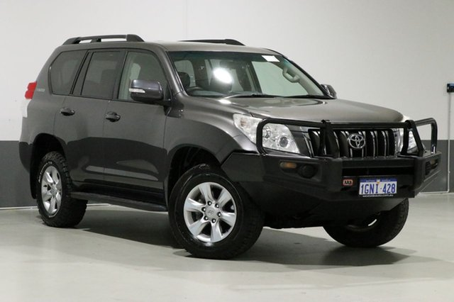 Used Toyota Landcruiser Prado KDJ150R 11 Upgrade GXL (4x4), 2013 Toyota Landcruiser Prado KDJ150R 11 Upgrade GXL (4x4) Grey 6 Speed Manual Wagon