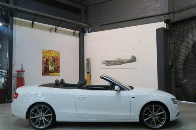 Used Audi A5 8T MY13 Multitronic, 2012 Audi A5 8T MY13 Multitronic White 8 Speed Constant Variable Cabriolet