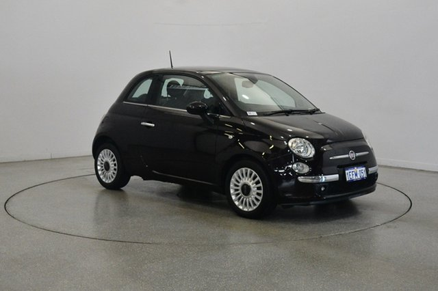 Used Fiat 500 Series 1 Lounge Dualogic, 2013 Fiat 500 Series 1 Lounge Dualogic Purple 5 Speed Sports Automatic Single Clutch Hatchback
