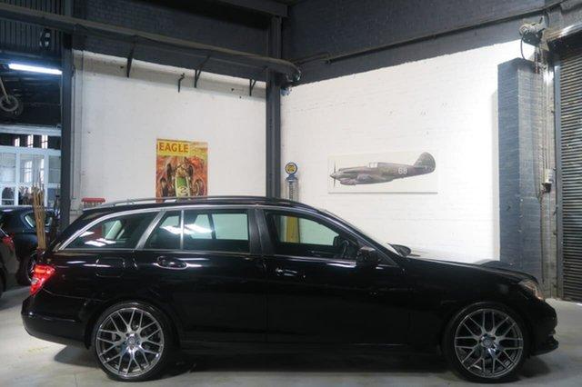 Used Mercedes-Benz C200 CDI W204 MY13 BlueEFFICIENCY Estate 7G-Tronic + Elegance, 2012 Mercedes-Benz C200 CDI W204 MY13 BlueEFFICIENCY Estate 7G-Tronic + Elegance Black 7 Speed