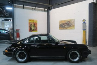 1981 Porsche 911 SC Black 5 Speed Manual Coupe.