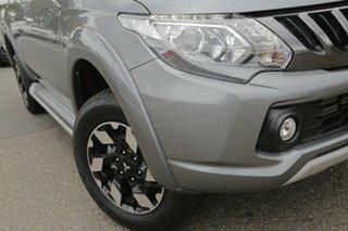 2018 Mitsubishi Triton MQ MY18 Exceed Double Cab Titanium 5 Speed Sports Automatic Utility.