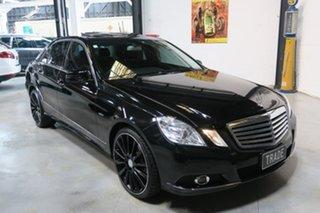 2010 Mercedes-Benz E220 W212 BlueEFFICIENCY Elegance Black 5 Speed Sports Automatic Sedan.