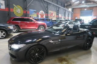 2016 BMW Z4 E89 LCI sDrive20i Edition M Sport Black 8 Speed Sports Automatic Roadster