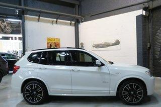 2013 BMW X3 F25 MY0413 xDrive28i Steptronic White 8 Speed Automatic Wagon.
