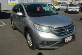 2014 Honda CR-V RM MY14 DTi-S 4WD Silver 6 Speed Manual Wagon.