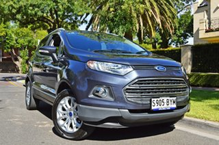 2013 Ford Ecosport BK Titanium Grey 5 Speed Manual Wagon.