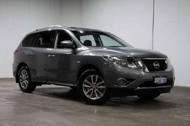 Used Nissan Pathfinder R52 Series II MY17 ST X-tronic 2WD, 2016 Nissan Pathfinder R52 Series II MY17 ST X-tronic 2WD Grey 1 Speed Constant Variable Wagon