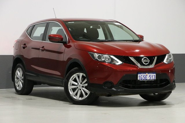 Used Nissan Qashqai J11 ST, 2017 Nissan Qashqai J11 ST Magnetic Red Continuous Variable Wagon
