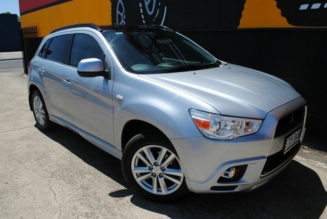 Used Mitsubishi ASX XA MY12 Aspire, 2011 Mitsubishi ASX XA MY12 Aspire Premium Silver 6 Speed Constant Variable Wagon