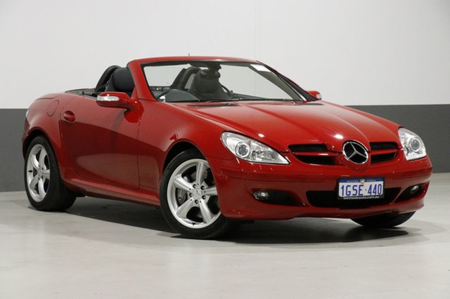 Used Mercedes-Benz SLK350 R171 07 Upgrade , 2007 Mercedes-Benz SLK350 R171 07 Upgrade Red 7 Speed Automatic G-Tronic Convertible