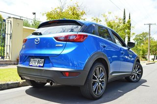 2015 Mazda CX-3 DK4W7A Akari SKYACTIV-Drive i-ACTIV AWD Metallic Blue 6 Speed Sports Automatic Wagon.