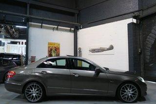 2010 Mercedes-Benz E250 CDI W212 BlueEFFICIENCY Avantgarde Silver 5 Speed Sports Automatic Sedan.
