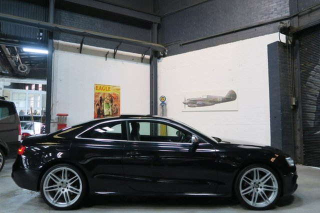 Used Audi S5 8T MY14 S Tronic Quattro, 2013 Audi S5 8T MY14 S Tronic Quattro Black 7 Speed Sports Automatic Dual Clutch Coupe
