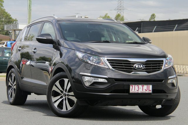 Used Kia Sportage SL MY13 Platinum, 2013 Kia Sportage SL MY13 Platinum Black 6 Speed Sports Automatic Wagon