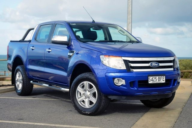 Used Ford Ranger PX XLT, 2014 Ford Ranger PX XLT Blue 6 Speed Sports Automatic Utility