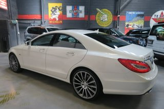 2012 Mercedes-Benz CLS500 C218 BlueEFFICIENCY Coupe 7G-Tronic White 7 Speed Sports Automatic Sedan