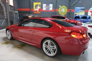 2012 BMW 640i F13 MY0312 Steptronic Red 8 Speed Sports Automatic Coupe