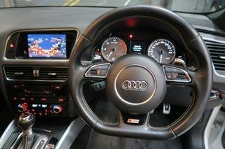 2014 Audi SQ5 8R MY15 TDI Tiptronic Quattro White 8 Speed Sports Automatic Wagon
