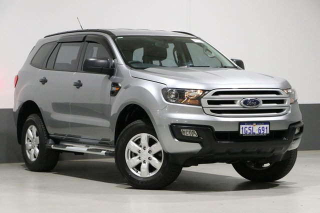 Used Ford Everest UA Trend, 2016 Ford Everest UA Trend Aluminium 6 Speed Automatic Wagon