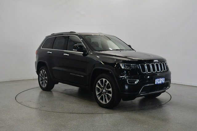 Used Jeep Grand Cherokee WK MY18 Limited, 2018 Jeep Grand Cherokee WK MY18 Limited Diamond Black Crystal 8 Speed Sports Automatic Wagon