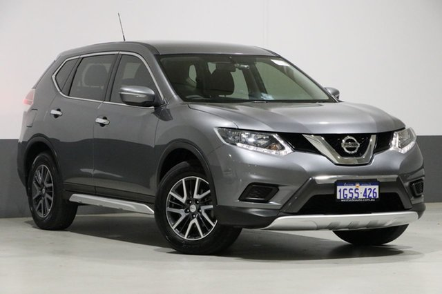 Used Nissan X-Trail T32 ST N-Sport SE Silver (fwd), 2016 Nissan X-Trail T32 ST N-Sport SE Silver (fwd) Grey Continuous Variable Wagon