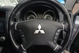 2008 Mitsubishi Pajero NS 25th Anniversary Silver 5 Speed Sports Automatic Wagon