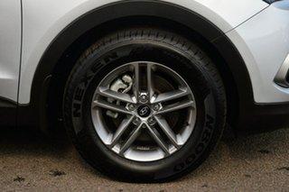 2017 Hyundai Santa Fe DM5 MY18 Active Platinum Silver 6 Speed Sports Automatic Wagon