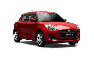 2018 Suzuki Swift AZ GL Navigator Safety Pack Burning Red 1 Speed Constant Variable Hatchback